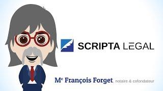 Me François Forget, notaire et cofondateur de ScriptaLegal.com