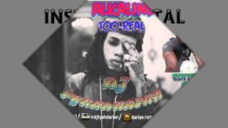 ALKALINE   TOO REAL CLEAN+EDIT (BY DJ FYAHDARIAN)