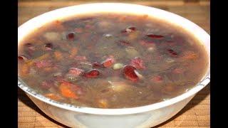 Фасолевый Суп с Колбасой в Мультиварке Скороварке Redmond Рецепты для мультиварки
