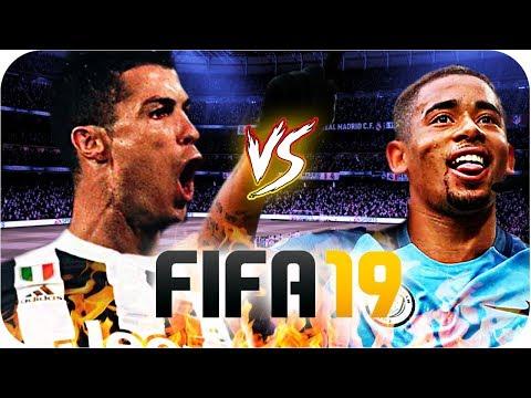 GABRIEL JESUS vs CRISTIANO RONALDO! FIFA 19! ⚽ ‹ tayr ›