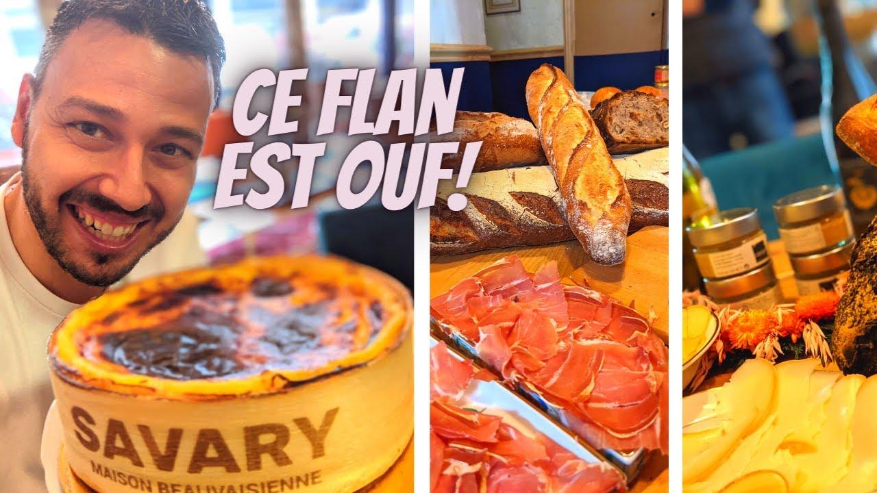 FLAN, FROMAGES, CHARCUTERIES : On me prépare un FESTIN! - VLOG 1143