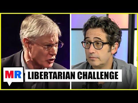 Seder DEBATES Ayn Rand Institute Libertarian Yaron Brook