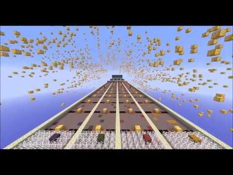 Lucky Block Race Map Minecraft Project