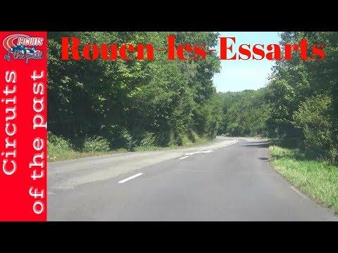 Rouen-les-Essarts Circuit 1950-1954 layout Onboard POV