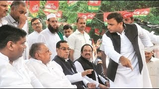 Father Versus Son Versus Uncle: War Erupts In Samajwadi Party Parivar