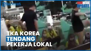 Viral Video TKA Asal Korea Tendang Karyawan Lokal di Subang, Pihak Perusahaan Beri Penjelasan