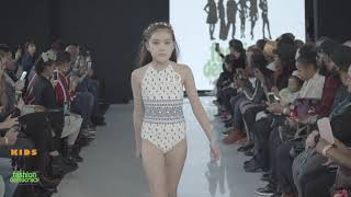 KIDS Fashion Democracy 2019 Winter Show In NYC Swimwear Look 4 To 8 Year Old Category
