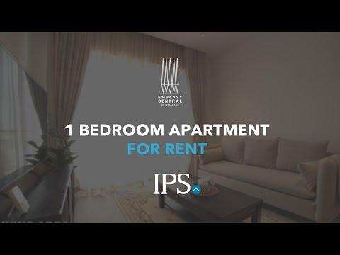 1 Bedroom Apartment For Rent - Embassy Central, BKK1, Phnom Penh thumbnail