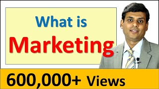 1. What is Marketing - Marketing Lecture by Prof. Vijay Prakash Anand