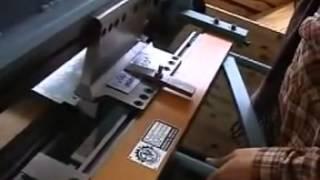 Оборудование для производства фасадных кассет часть1