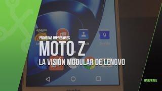 Moto Z y Motomods, la visión modular de Lenovo. Primeras impresiones