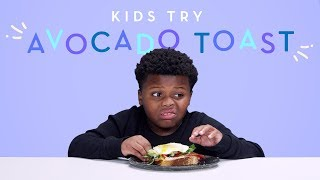 Kids Try Avocado Toast | Kids Try | HiHo Kids | Kholo.pk