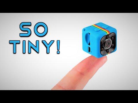 SQ11 mini FULL HD DV camera review $8 MINI CAMERA