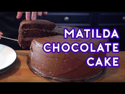 Video Binging with Babish: Chocolate Cake from Matilda