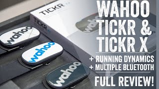 Wahoo TICKR & TICKR X 2020 Edition: Unboxing, Review, Accuracy Tests