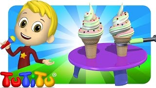 TuTiTu Songs Channel | Ice Cream | Sing Along For Kids
