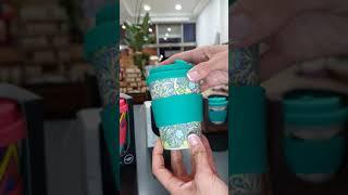 Vasos reutilizables de bambú