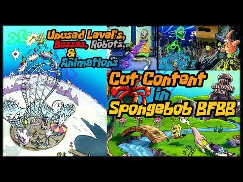 Regarding The Cut Content Added To Game Spongebob