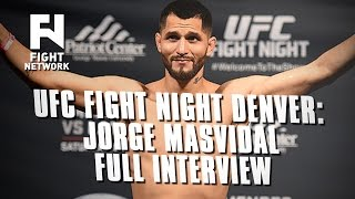 UFC Fight Night Denver: Jorge Masvidal: Product of My Environment - Full Interview