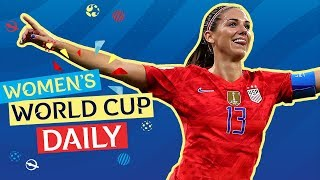 Morgan fires USA into Final | Women's World Cup Daily