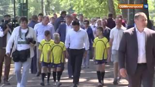 В минувшую субботу Солнечногорский район посетил с рабочим визитом Андрей Воробьев