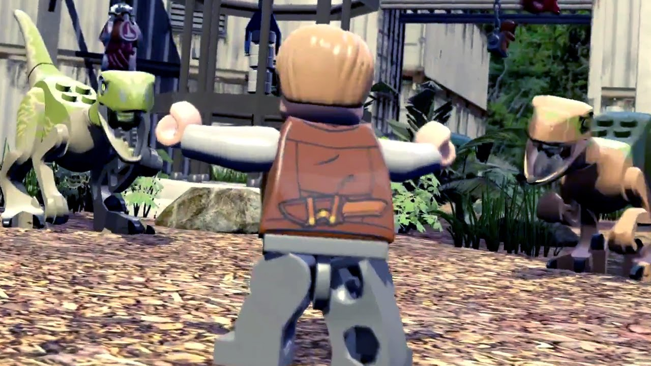 LEGO JURASSIC WORLD Trailer (PS4/Xbox One) #VideoJuegos #Consolas