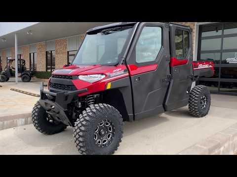 2019 Polaris Ranger Crew XP 1000 EPS NorthStar HVAC Edition in Marshall, Texas