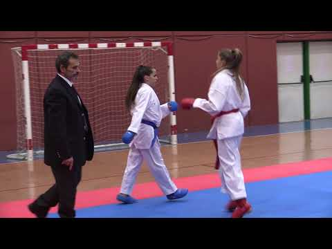 JDN Kata y Kumite Cadete y Junior 201018 Video 1