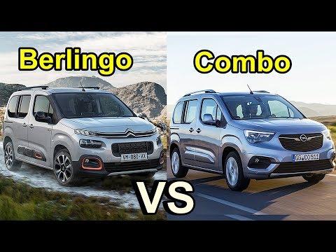 2019 Citroën Berlingo vs 2019 Opel Combo