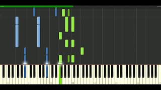 Def Leppard - Miss You In A Heartbeat [Piano Tutorial] Synthesia | passkeypiano