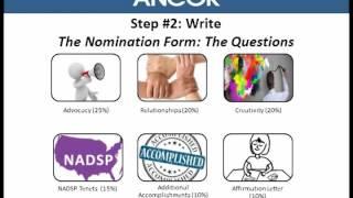 Write a Winning DSP Nomination