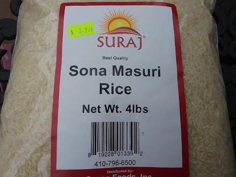 What is Sona Masuri Rice?