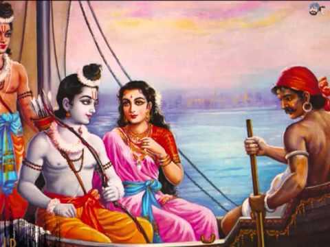kabhi kabhi bhagwan ko bhi bhagto se kam pade jana tha ganga paar prabhu kewat ki naav chade
