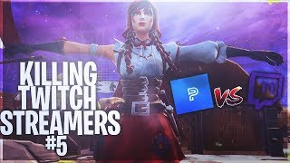 Killing Twitch Streamers #5 - Fortnite Battle Royale