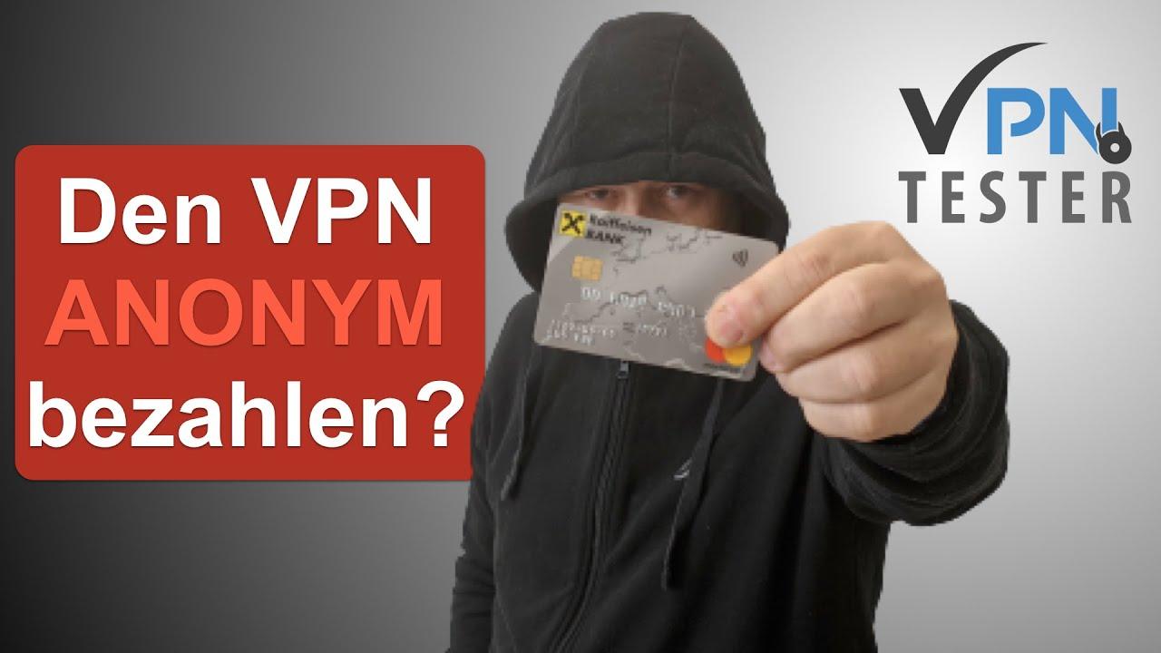 VPN anonym bezahlen? Warum das keine Anonymität bringt. 1