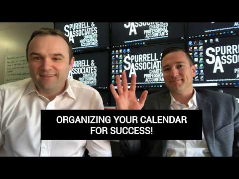 Edmonton Business Consultant | Organizing Your Calendar For Success