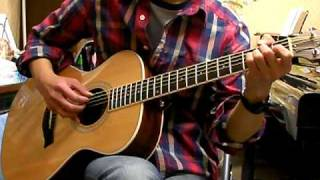 ONE OF THE BRIGHTEST STARS / James Blunt ( solo-guitar cover )