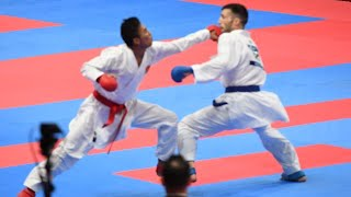 Detik Detik Perolehan Emas Rifky Arrosyid Pada Asian Games 2018 Cabor Karate