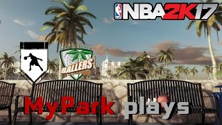 Best MyPark Plays (Ankle Breakers,Dimes,posterized and more... ) NBA 2k17