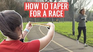 What Is A Marathon Taper?   Tapering Tips For Runners