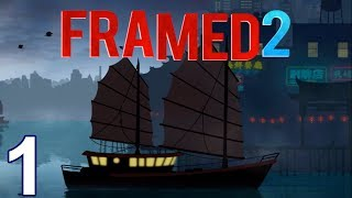 FRAMED 2 Walkthrough Gameplay Part 1 - Levels 1-9 (iOS Android)