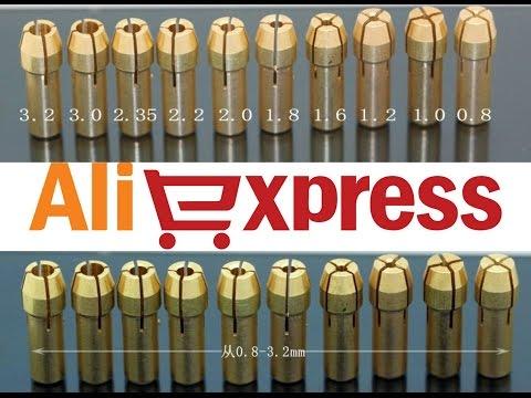 Цанги или цанговые патроны для бормашины или гравера Dremel MultiPro из Китая (aliexpress)