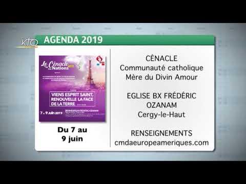 Agenda du 31 mai 2019
