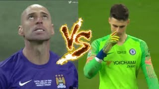 Willy Caballero VS Kepa Arrizabalaga (Penalty Shootout)