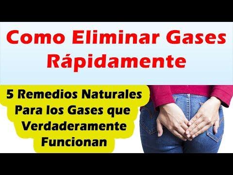 Como sacar gases del abdomen