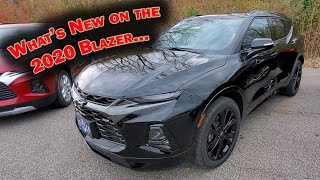 WHAT'S NEW FOR THE 2020 CHEVY BLAZER? 2019 vs 2020 Comparison - 3 BIG DIFFERENCES