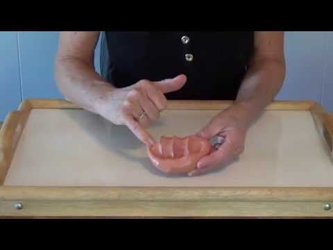 Screenshot of video: Hand strengthening exercises with Theraputty