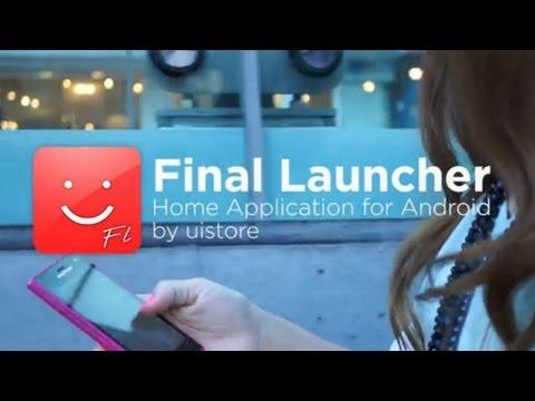 Video of Final Launcher