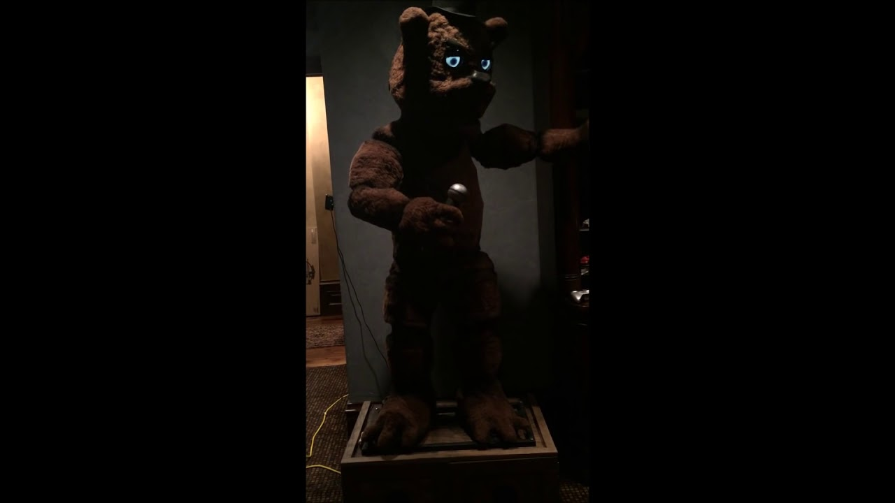 Real-Life Five Nights At Freddy's Animatronic Is Not Cool, Man