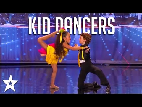Top KID DANCERS From Across The World! | Got Talent Global (видео)